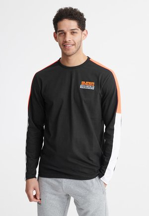 SUPERDRY STREETSPORT LONG SLEEVED TOP - T-shirt à manches longues - black