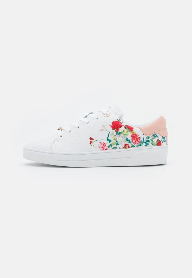 HAYIDEN - Sneakersy niskie - white