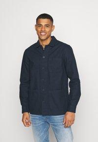 Burton Menswear London - LONG SLEEVE POCKET - Camicia - navy - 0