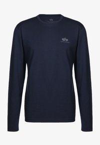 Alpha Industries - 198517 - Long sleeved top - blue - 0