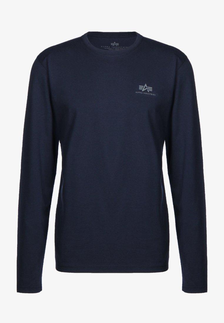 Alpha Industries - 198517 - Long sleeved top - blue