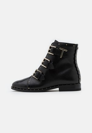 ROMONA - Cowboy/biker ankle boot - black