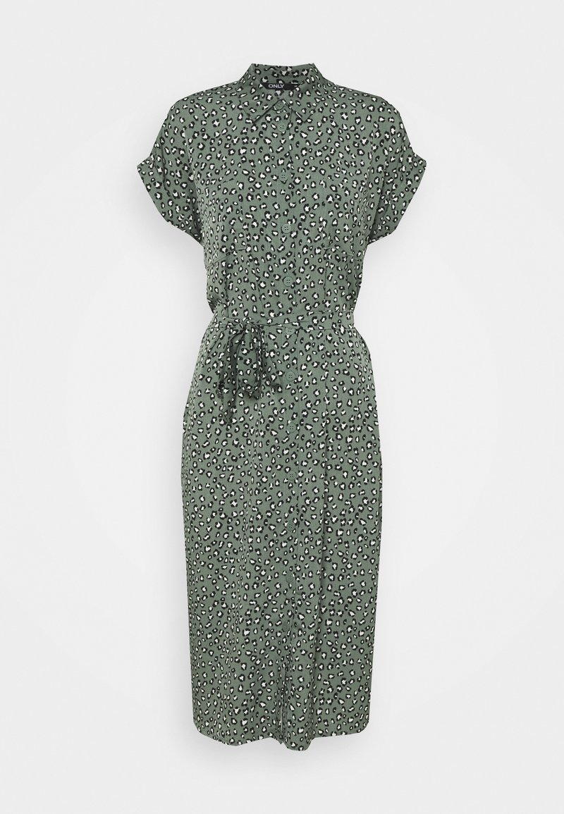 ONLY - ONLHANNOVER SHIRT DRESS - Skjortekjole - laurel wreath
