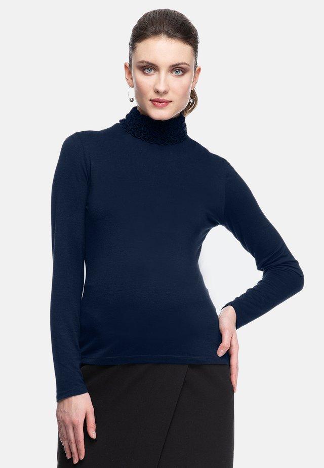 GWYNETH - Long sleeved top - dark blue