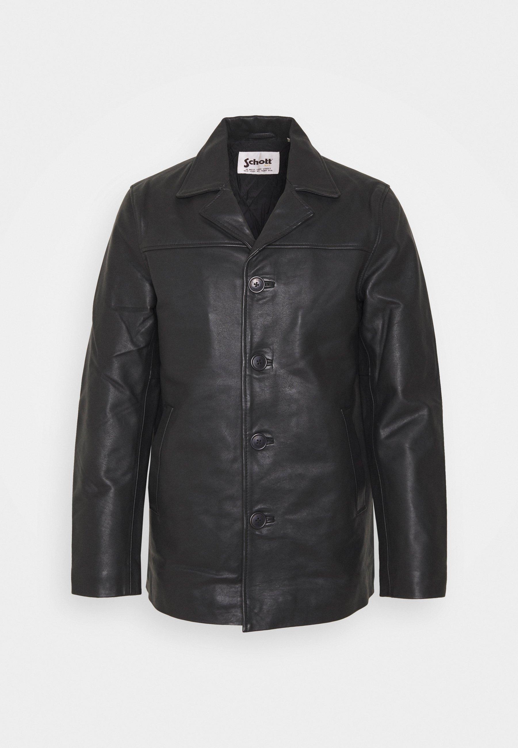 Men MAIN - Leather jacket