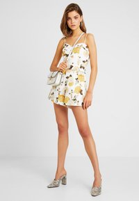 Forever New - BELTED - Jumpsuit - off-white/yellow - 1