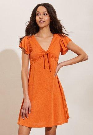 ZAHARA - Day dress - atomic orange