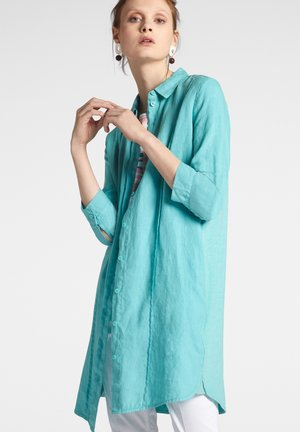 Hemdbluse - turquoise