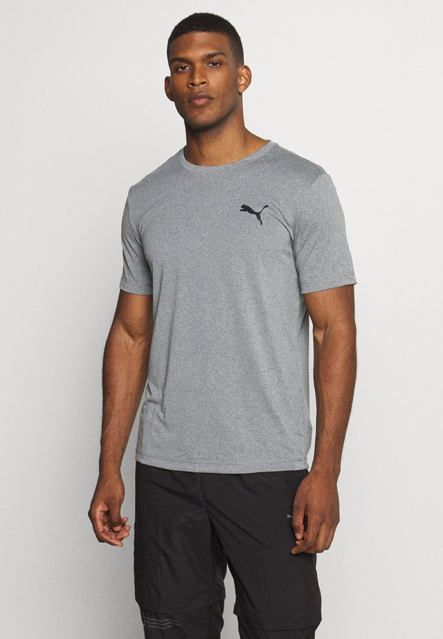 ACTIVE TEE - T-shirts - medium gray heather