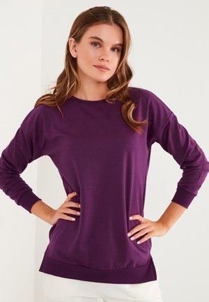 CREW NECK BASIC  - Sweater - purple