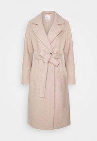 ONLY - ONLGINA WRAP COAT  - Classic coat - humus - 4