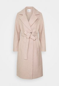 ONLGINA WRAP COAT  - Klasický kabát - humus