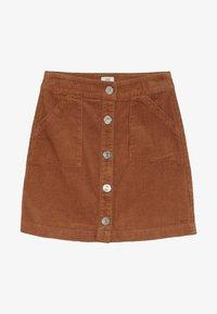 River Island - A-snit nederdel/ A-formede nederdele - light brown - 2