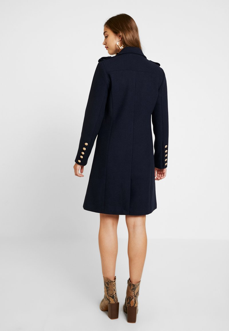 YAS - YASGOLDIAN COAT - Zimní kabát - navy blazer