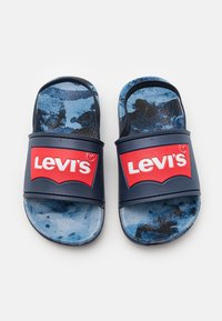 Levi's® - POOL CAMO UNISEX - Sandały - navy/red - 3