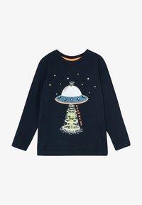 Blue Seven - KIDS GLOW IN THE DARK ALIEN SPACESHIP - Long sleeved top - nachtblau original - 2