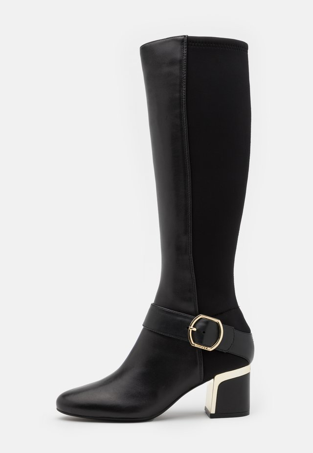 CAIRA KNEE HIGH BOOT - Boots - black