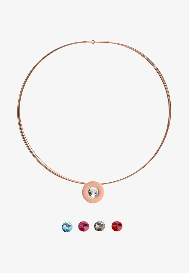 KETTE LUMEN - Ketting - rose gold-coloured