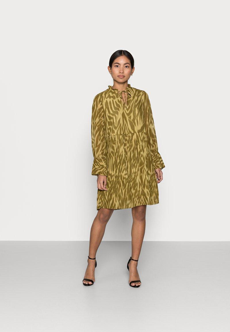 Object Petite - OBJZANIA  DRESS - Day dress - khaki