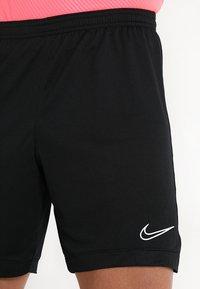 Nike Performance - DRY ACADEMY SHORT  - Urheilushortsit - black/black/white - 4