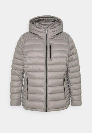 WOMENS ZIP FRONT PACKABLE HOOD - Light jacket - pearl grey