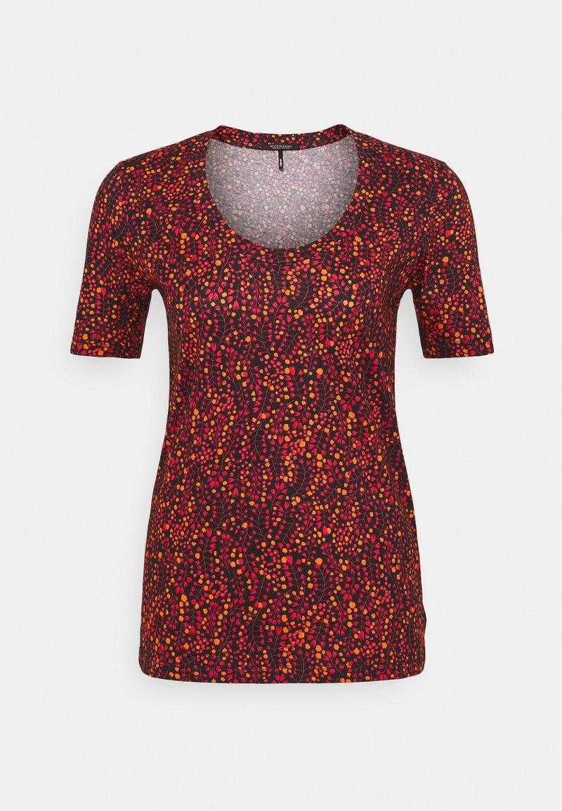 Scotch & Soda - PRINTED SHORT SLEEVE TEE - Print T-shirt - red