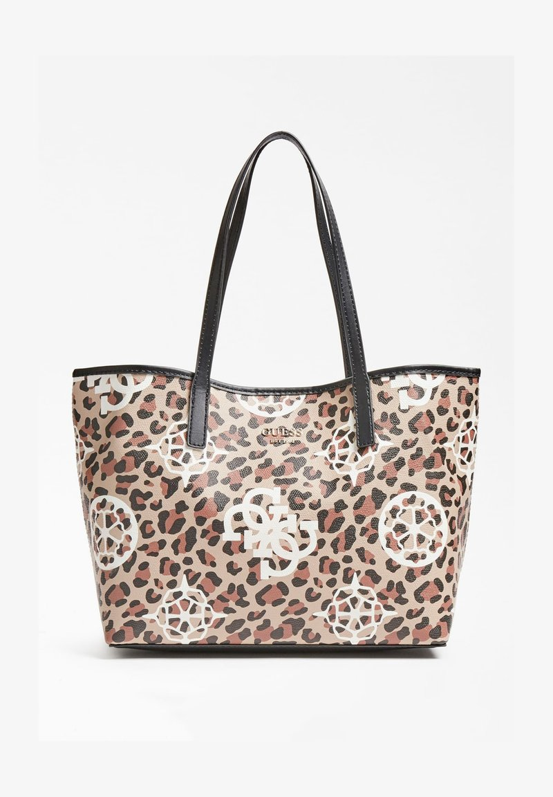 Guess - VIKKY ANIMALIER - Tote bag - animalier