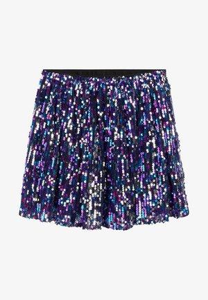 SPARKLE - A-line skirt - blue