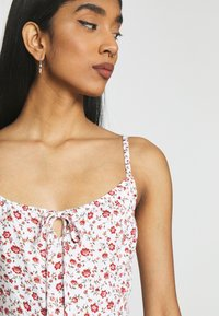 Hollister Co. - BARE DRESS - Day dress - white - 5