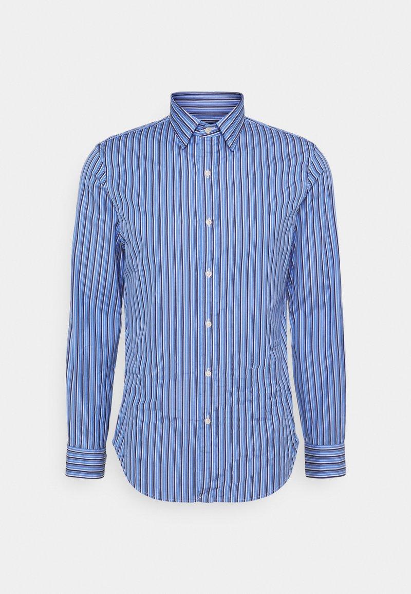 Polo Ralph Lauren - SLIM FIT STRIPED POPLIN SHIRT - Shirt - blue/navy