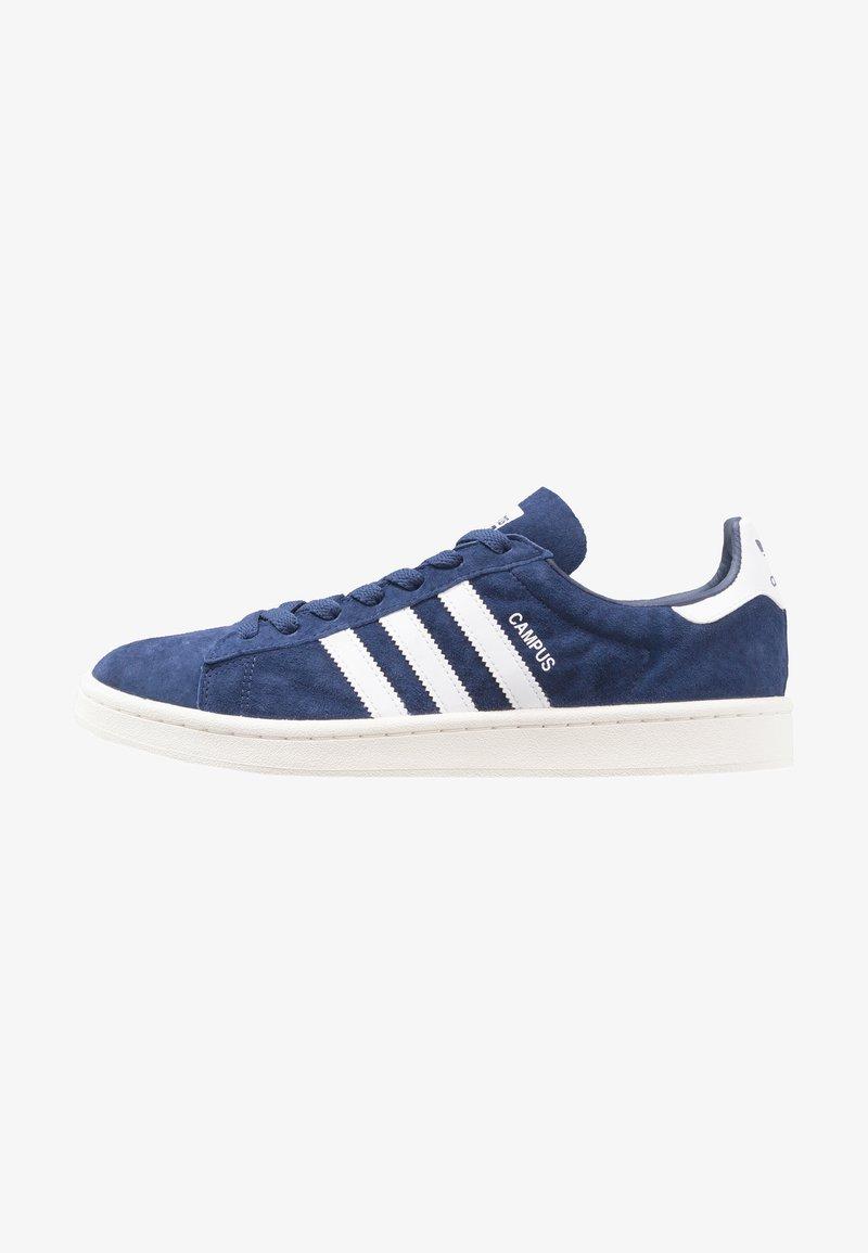 adidas Originals - CAMPUS - Trainers - dark blue/white/chalk white