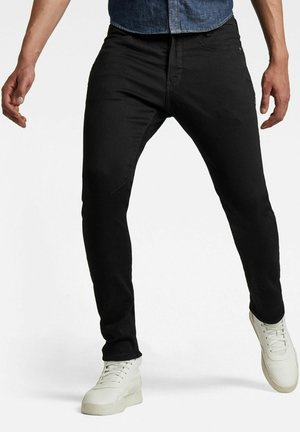D-STAQ 3D SLIM - Slim fit jeans - pitch black