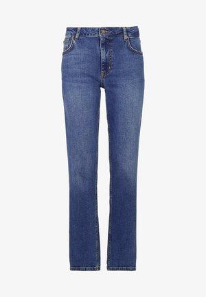 MIT GERADEM BEIN - Straight leg jeans - mittleres vintageblau