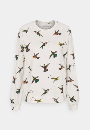 YSTAD RAGLAN HUMMINGBIRDS - Sudadera - off-white