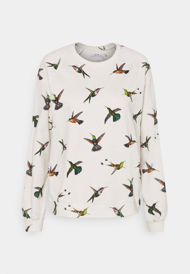 YSTAD RAGLAN HUMMINGBIRDS - Collegepaita - off-white