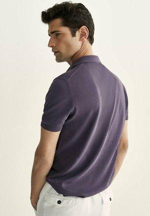 Polo shirt - dark purple