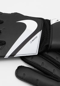 Nike Performance - GOALKEEPER MATCH UNISEX - Goalkeeping gloves - black/white - 1