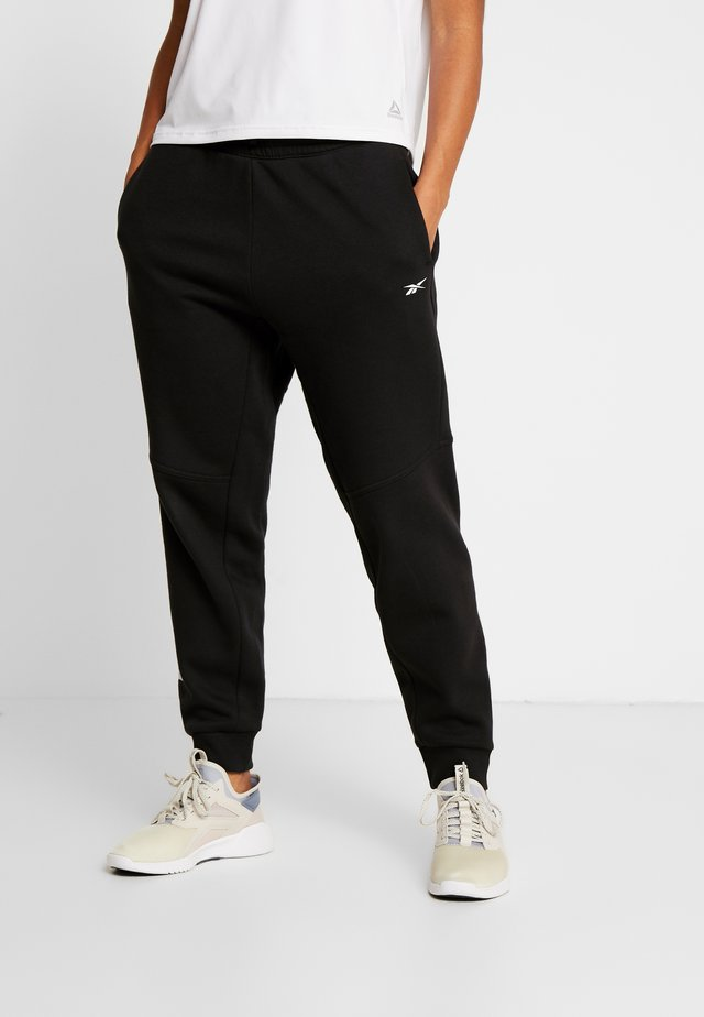 LINEAR LOGO PANT - Pantalones deportivos - black