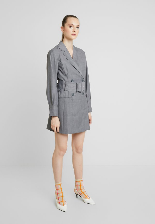 ENVII X FREJA WEWER  - Day dress - antracit