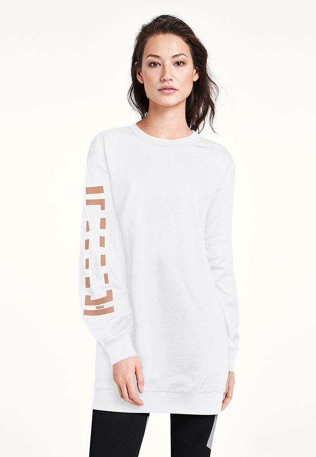 Robe d'été - white/petal rose