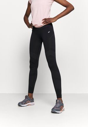 SEAMLESS - Legginsy - performance black