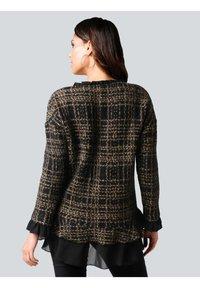 Alba Moda - Sweatshirt - schwarz,camel - 2