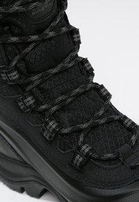 Columbia - BUGABOOT PLUS III OMNI-HEAT - Winter boots - black/charcoal - 5