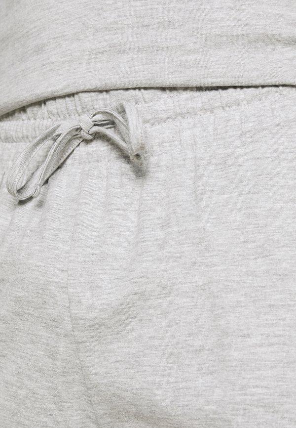 Pier One Piżama - mottled dark grey/ciemnoszary melanż Odzież Męska UJIP