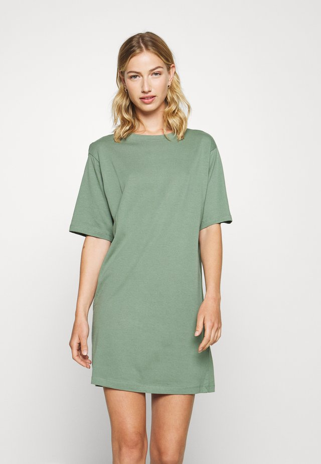 Jersey dress - laurel wreath