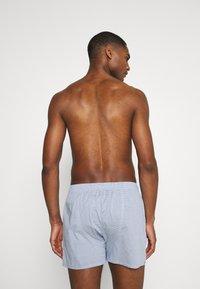 GANT - CHECK BOXER 2 PACK - Boxer shorts - classic blue - 1