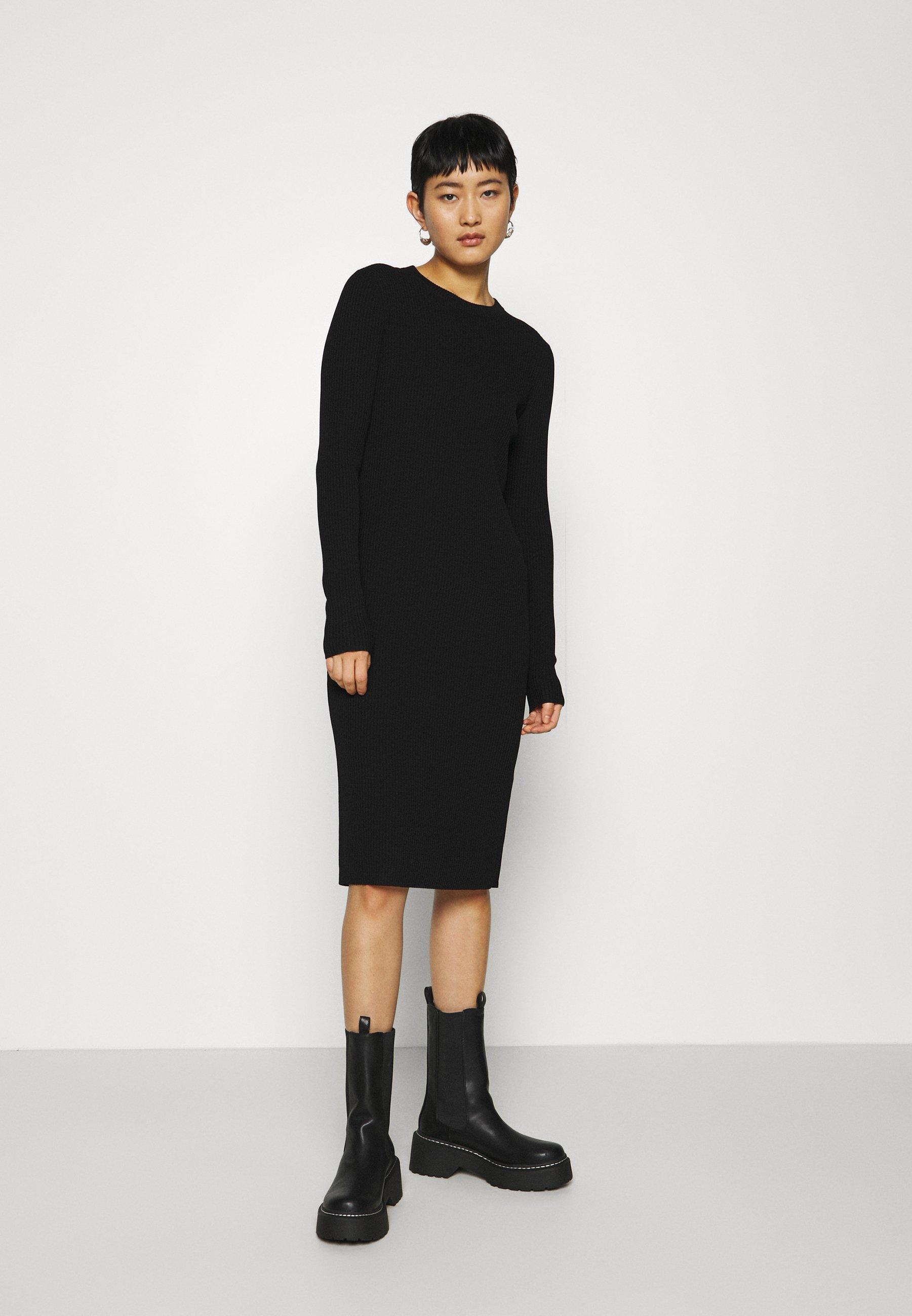 Women DRESS - Day dress - black