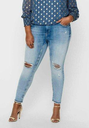 LIFE  - Jeans Skinny Fit - light blue denim