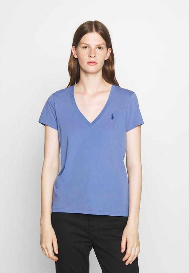 SHORT SLEEVE - Basic T-shirt - deep blue