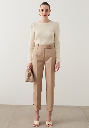 SAFARI - Trousers - natural
